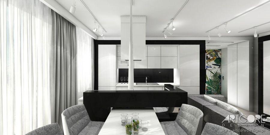 projekt wnętrza apartamentu cennik projektowy