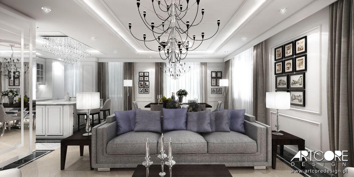 projektowanie wnętrz apartamentu warszawa ile kosztuje