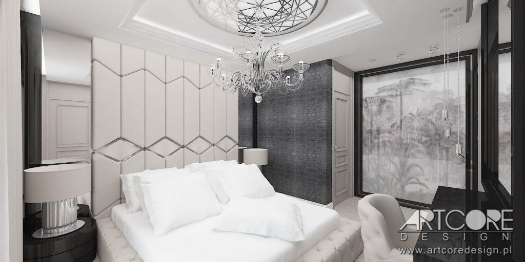 nowoczesna sypialnia luksusowa