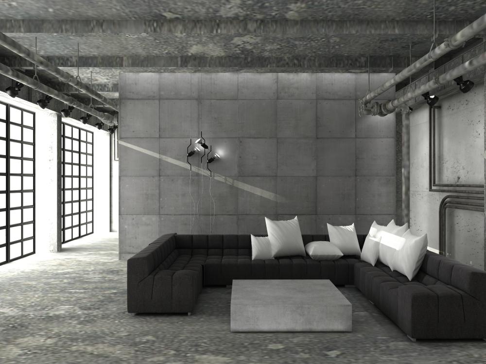 Projektowanie wnętrz w stylu industrialnym