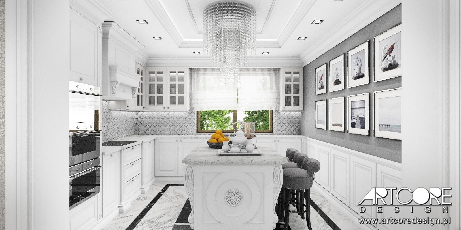Kuchnia W Stylu Amerykanskim Niezwykle Wnetrze Domu Artcore Design