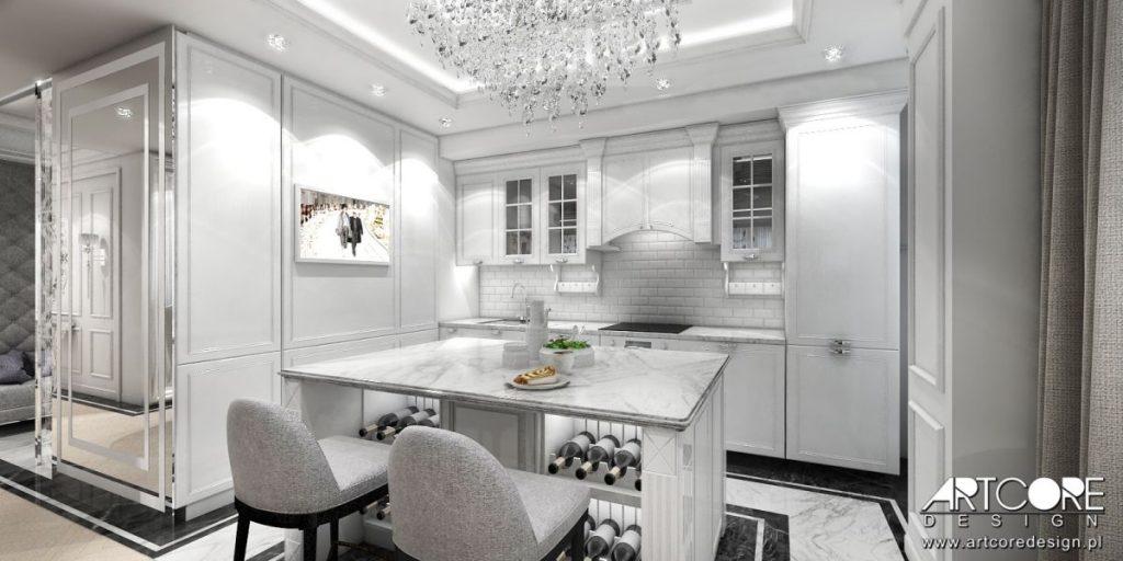 kuchnia w stylu angielskim projekt wnętrza k
