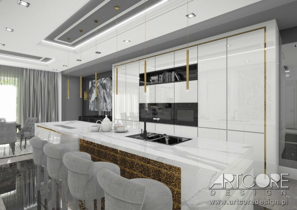kuchnia styl włoski wnętrza i architekt