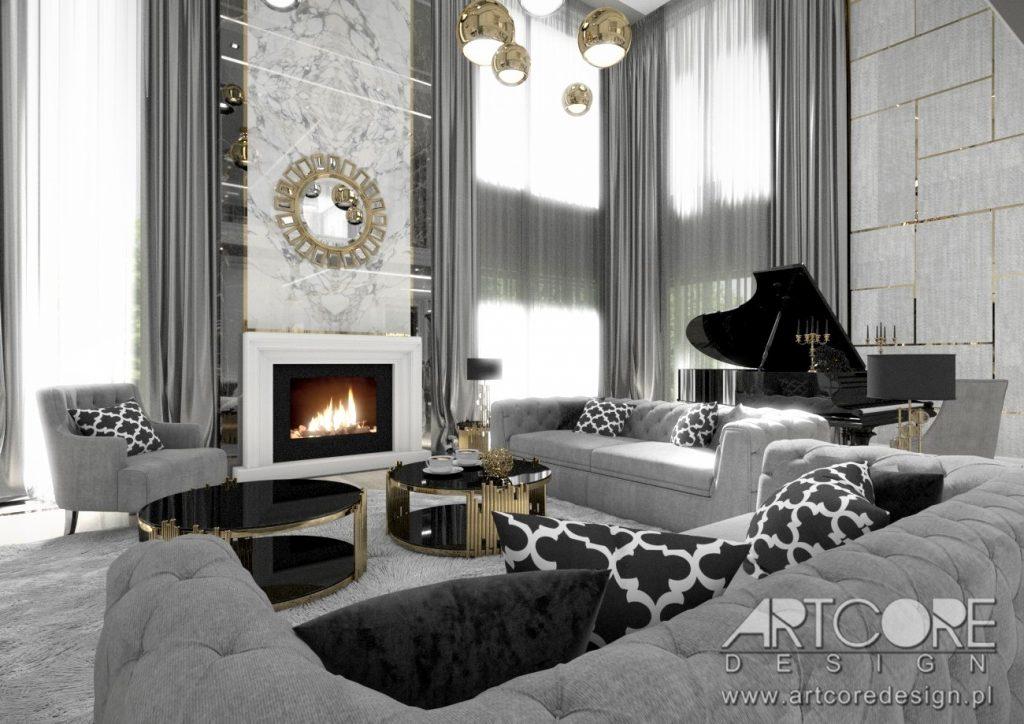 projekty wnętrz we włoskim stylu