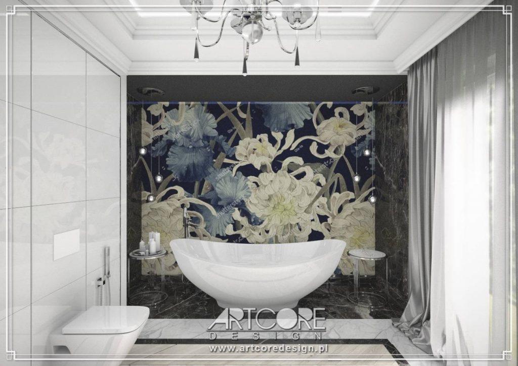 łazienka w warszawie architekt wnętrz