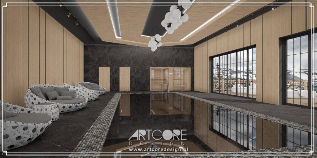 luksusowy basen architekt wnętrz