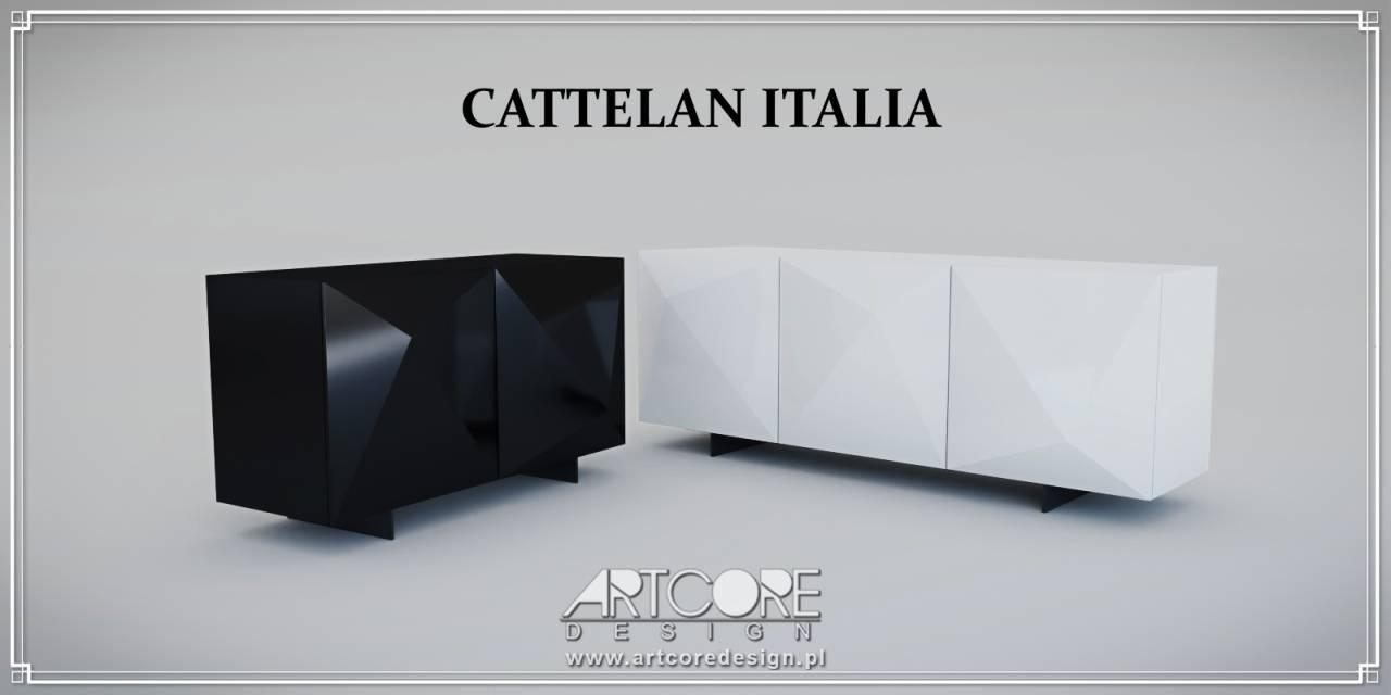 cattelan italia luksusowe komody