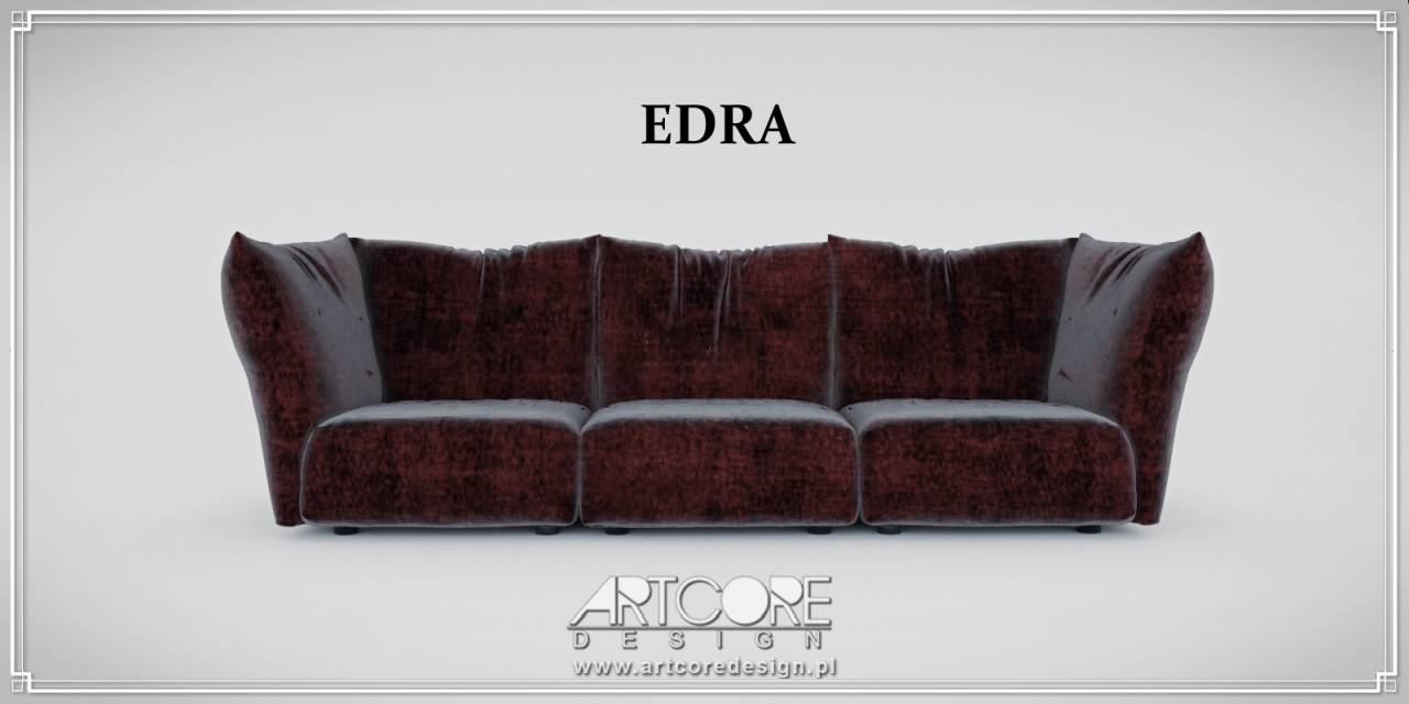 edra sofa luksusowa włoska