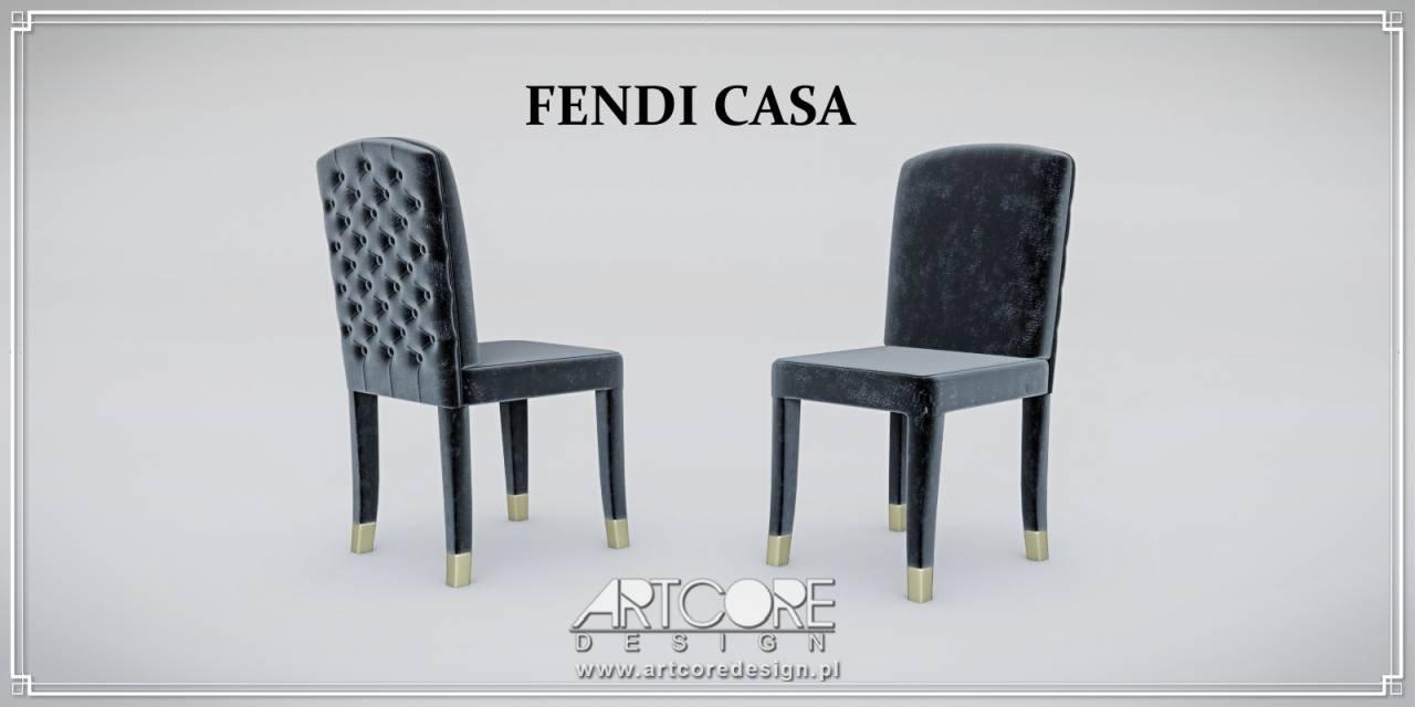 fendi casa krzesła włoskie