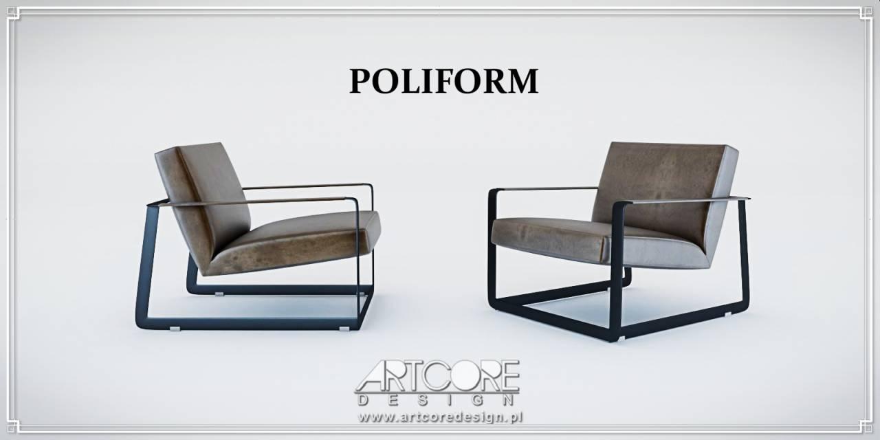 krzesła poliform włoskie meble