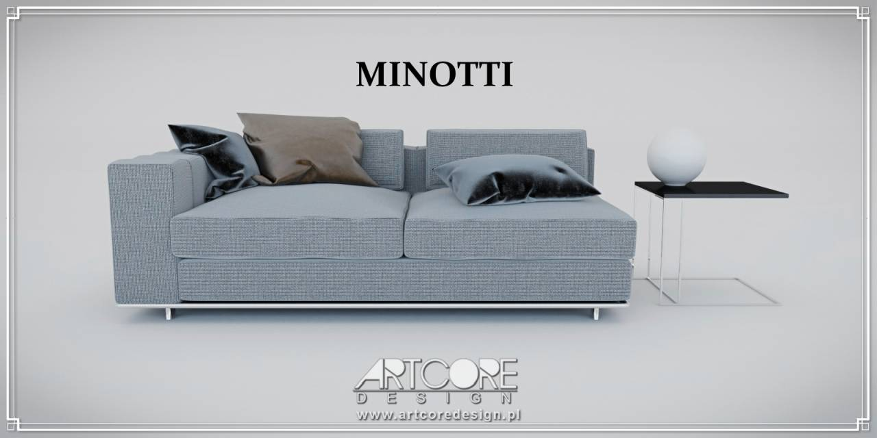 luksusowa sofa minotti