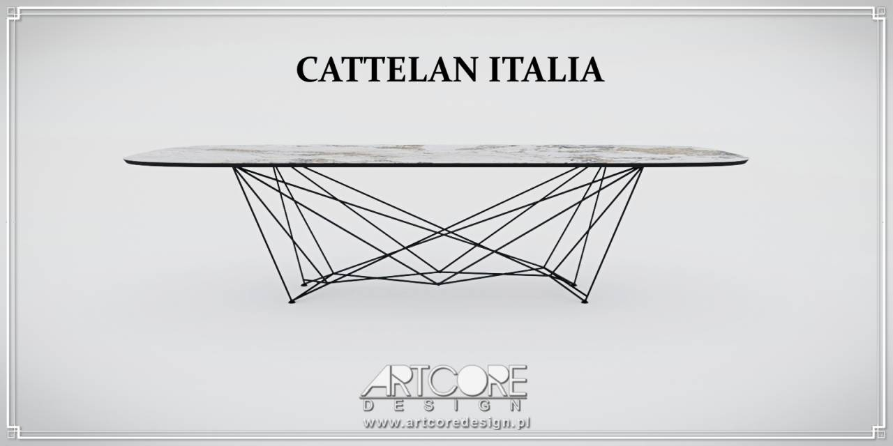 luksusowe meble stół cattelan italia