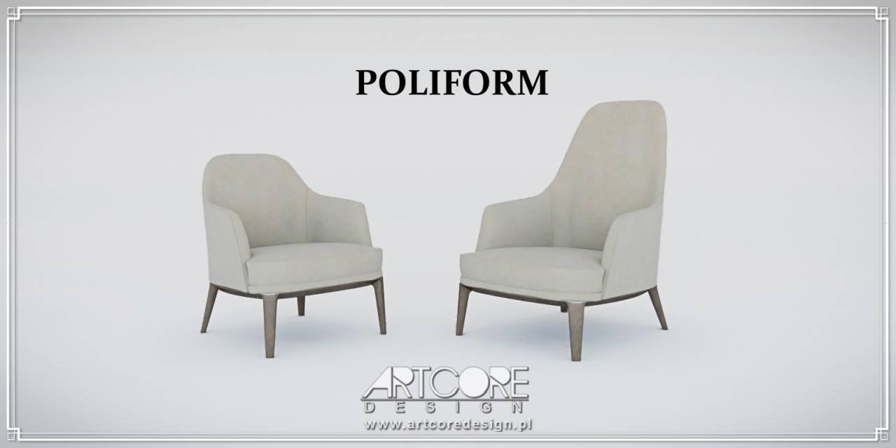 poliform krzesła luksusowe włoskie