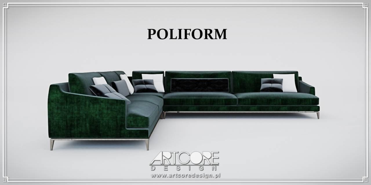 poliform sofa włoskie meble luksusowe