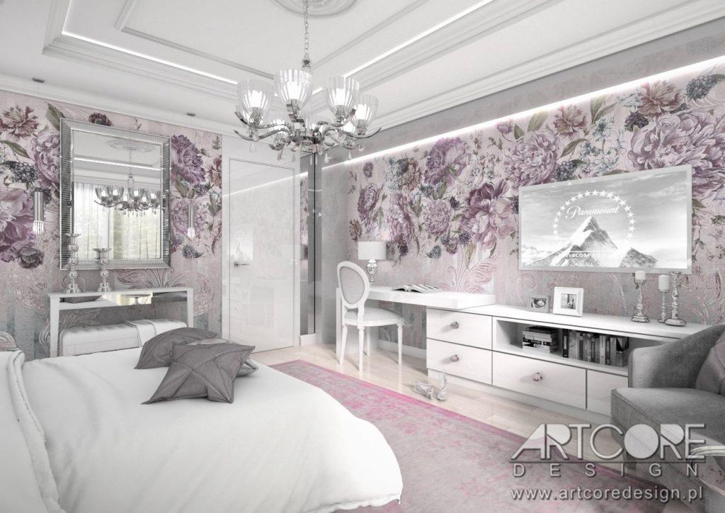 architekt wnętrz gdańsk sypialnia projekt