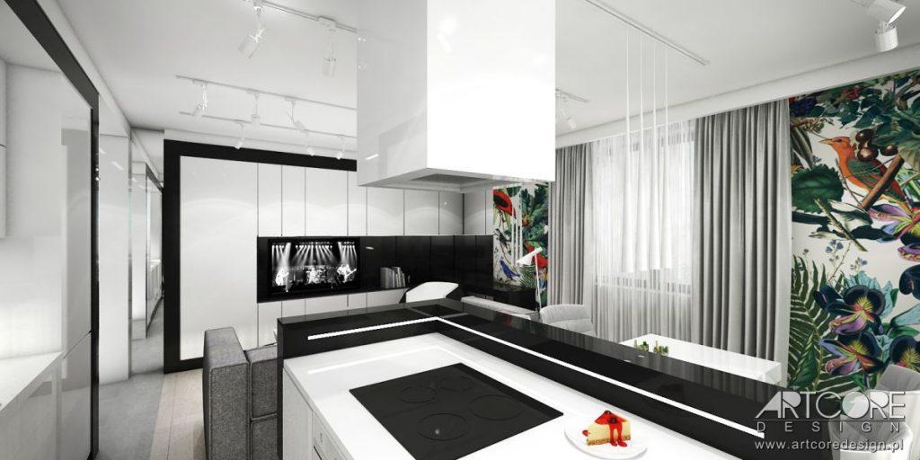 projektowanie wnętrz gdynia apartament