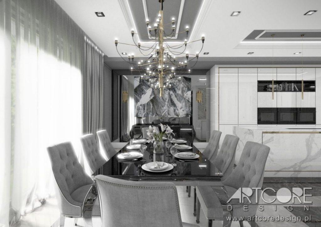 lampa nad stołem do jadalni wnętrze aranzacja