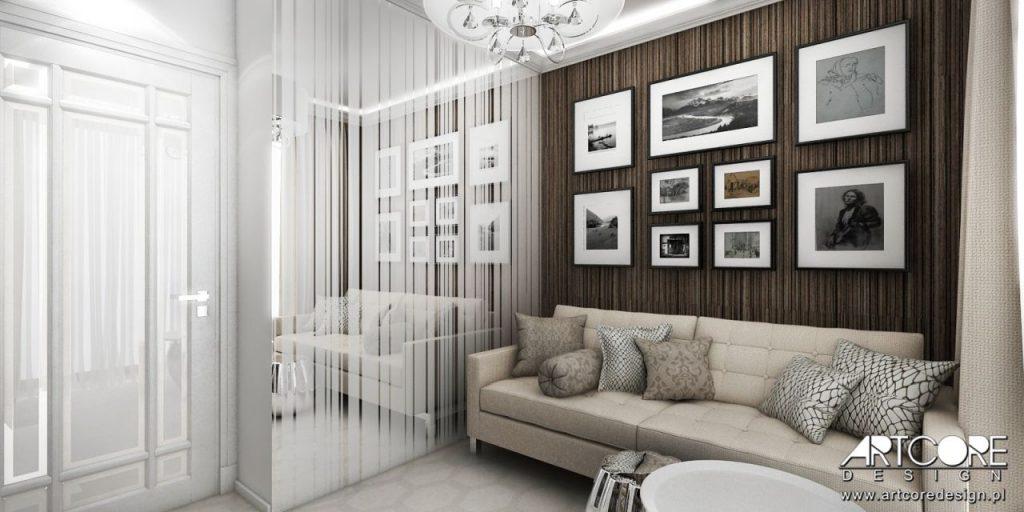 pokój gościnny inspiracje projekt architekt wnętrz