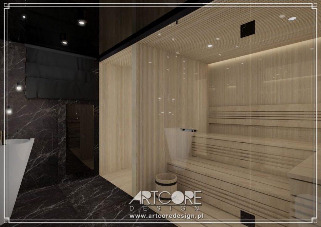 sauna w domu projekt i aranżacja warszawa
