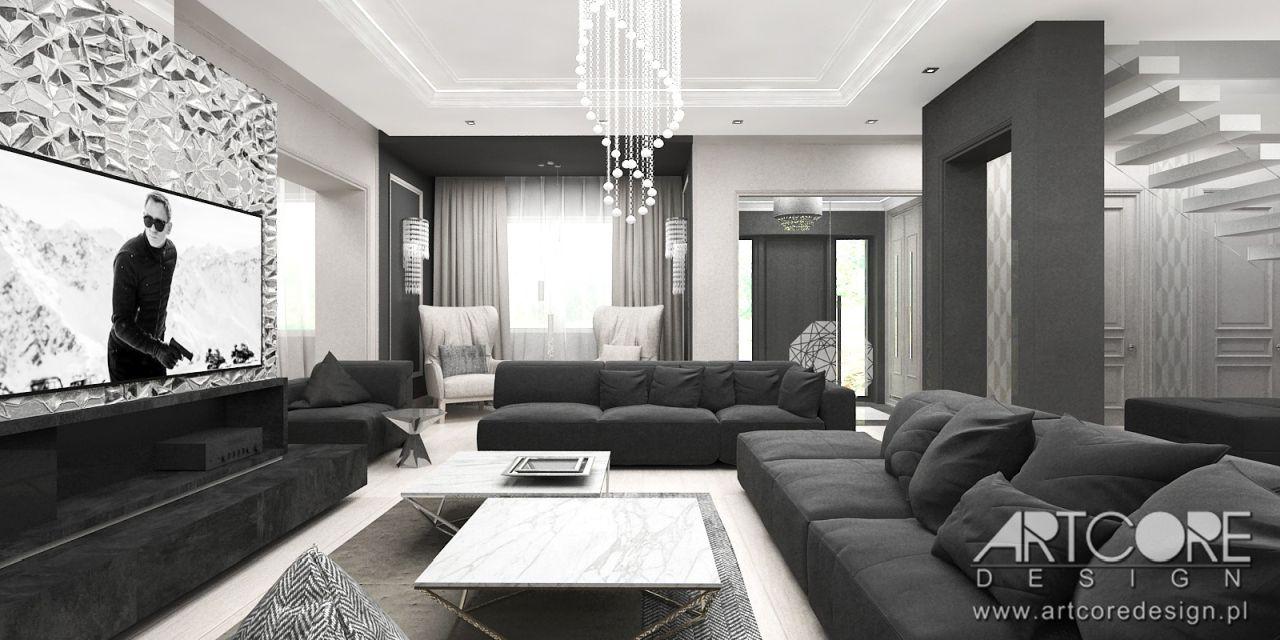 styl nowoczesny wnętrz nowoczesny dom projekt