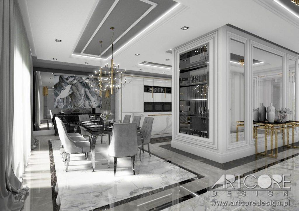 projektowanie wnętrz biała podlaska jadalnia