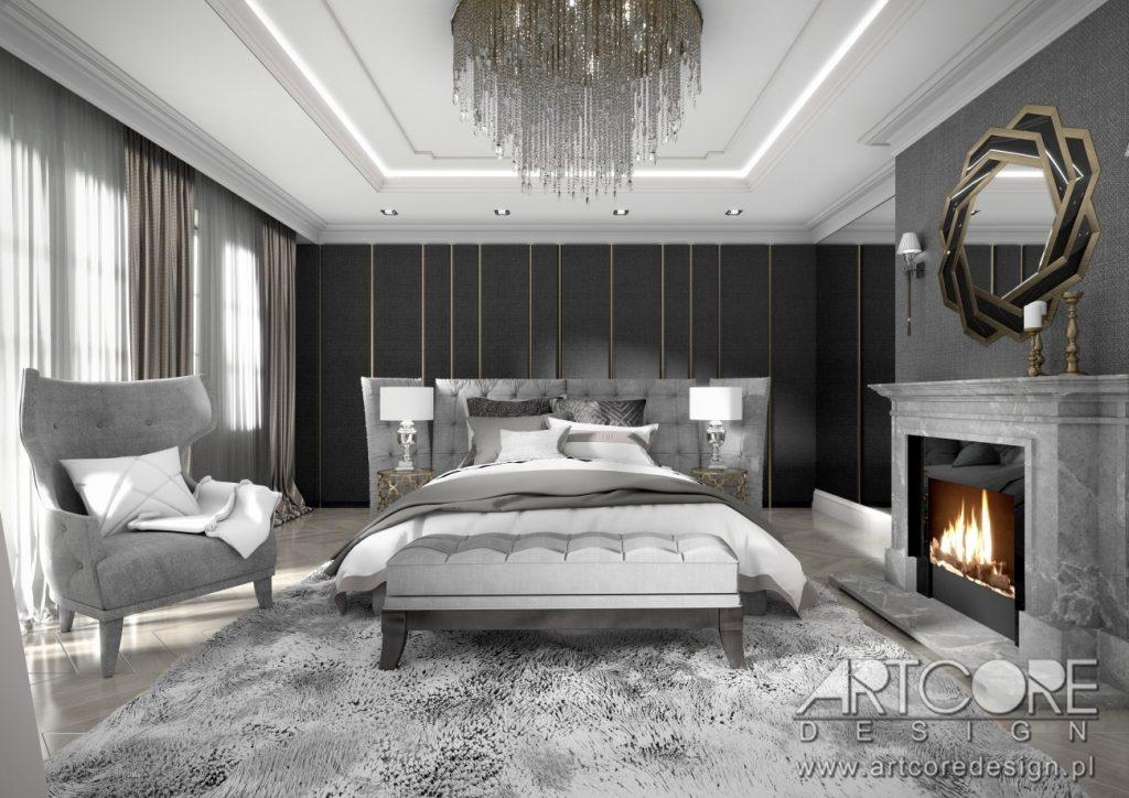 aranzacja wnetrz krosno projekt sypialni