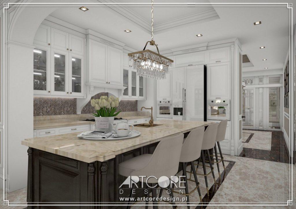 projekt wnętrza kuchni elbląg